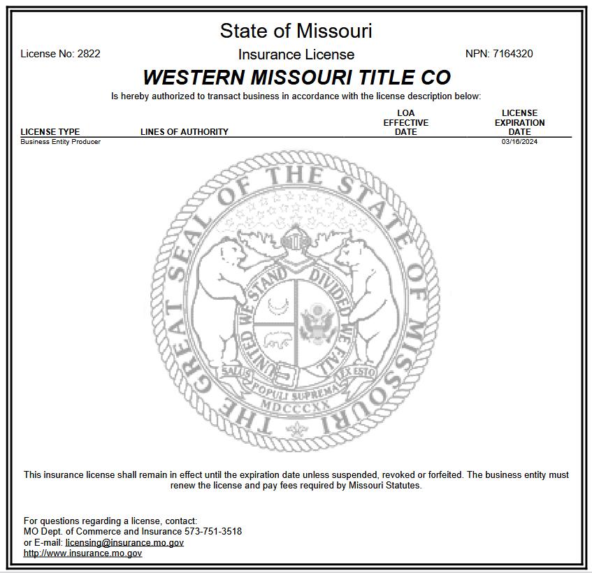 Western Missouri Title Company